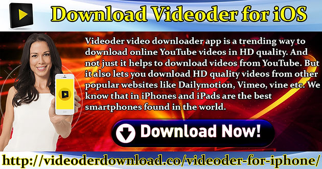 Download Videoder For iOS