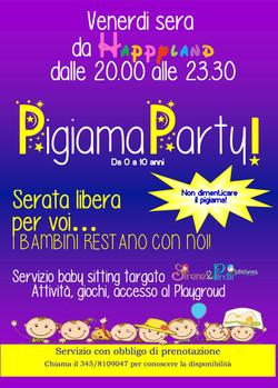 poster pigiama party