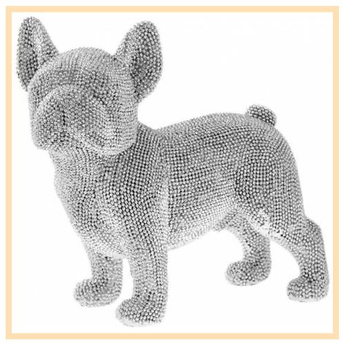 Silver French Bulldog