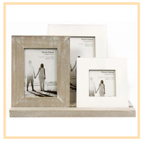 Shabby Chic Frame Display
