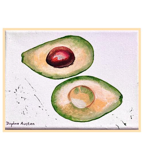 Handmade: Avocado In Green