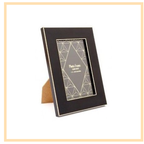 Gold Trim Picture Frame, 4x6inch