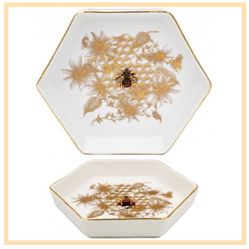 Golden Honeycomb Trinket Dish