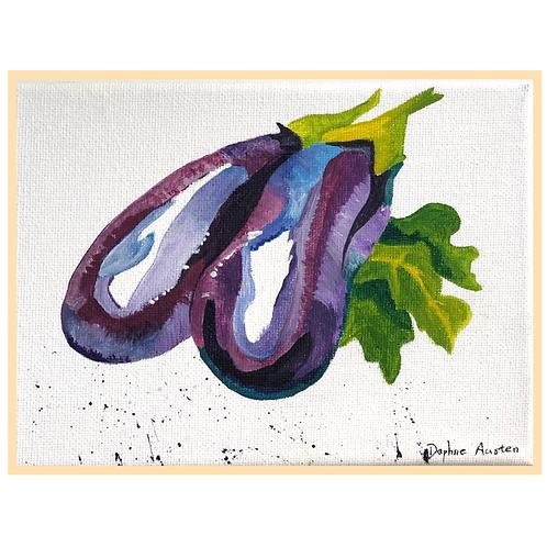 Handmade: Aubergine In Purple