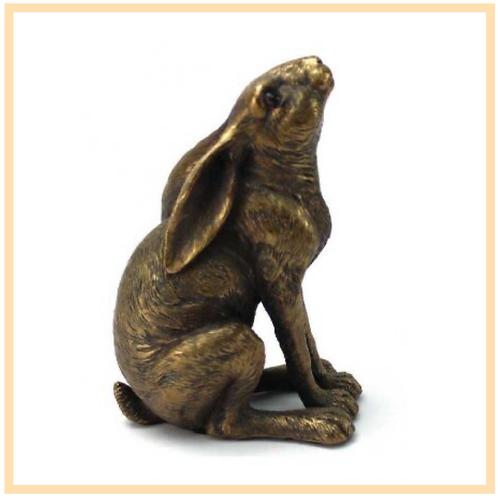 Bronze Gazing Hare