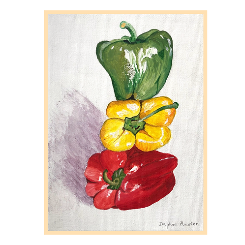 Handmade: Stack of Peppers
