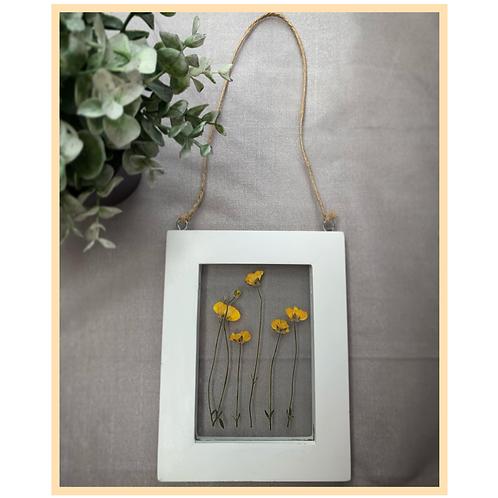 Handmade: Rope Hanging Frame (Yellow)