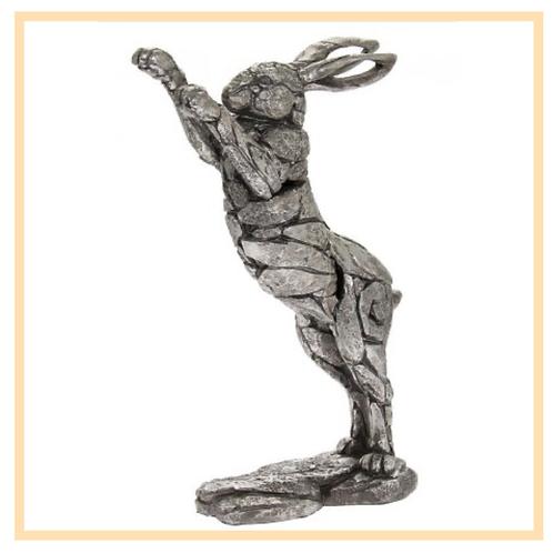 Silver Boxing Hare