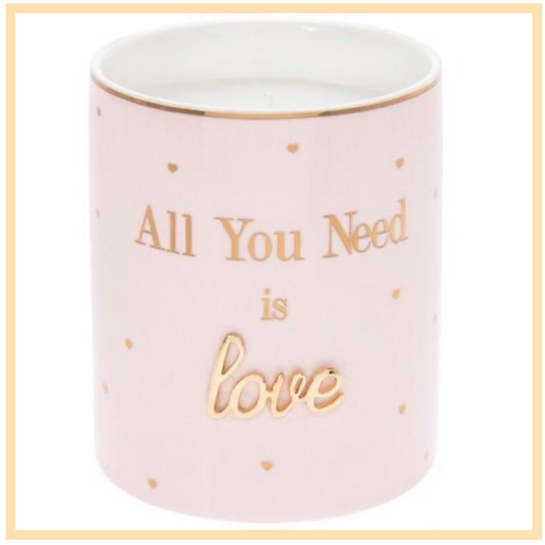 'All You Need Is Love' Oh So Candle Pot
