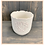 Thumbnail: White Ceramic Pot With Heart Decal, 14.5cm