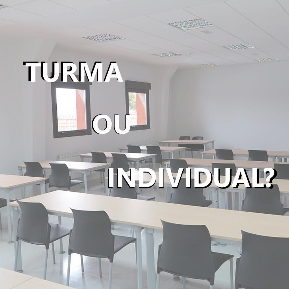 turma ou individual - ingles Mind Up
