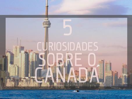 5 curiosidades sobre o Canadá