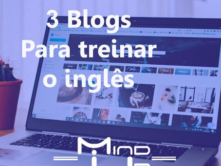 3 blogs para treinar o seu inglês