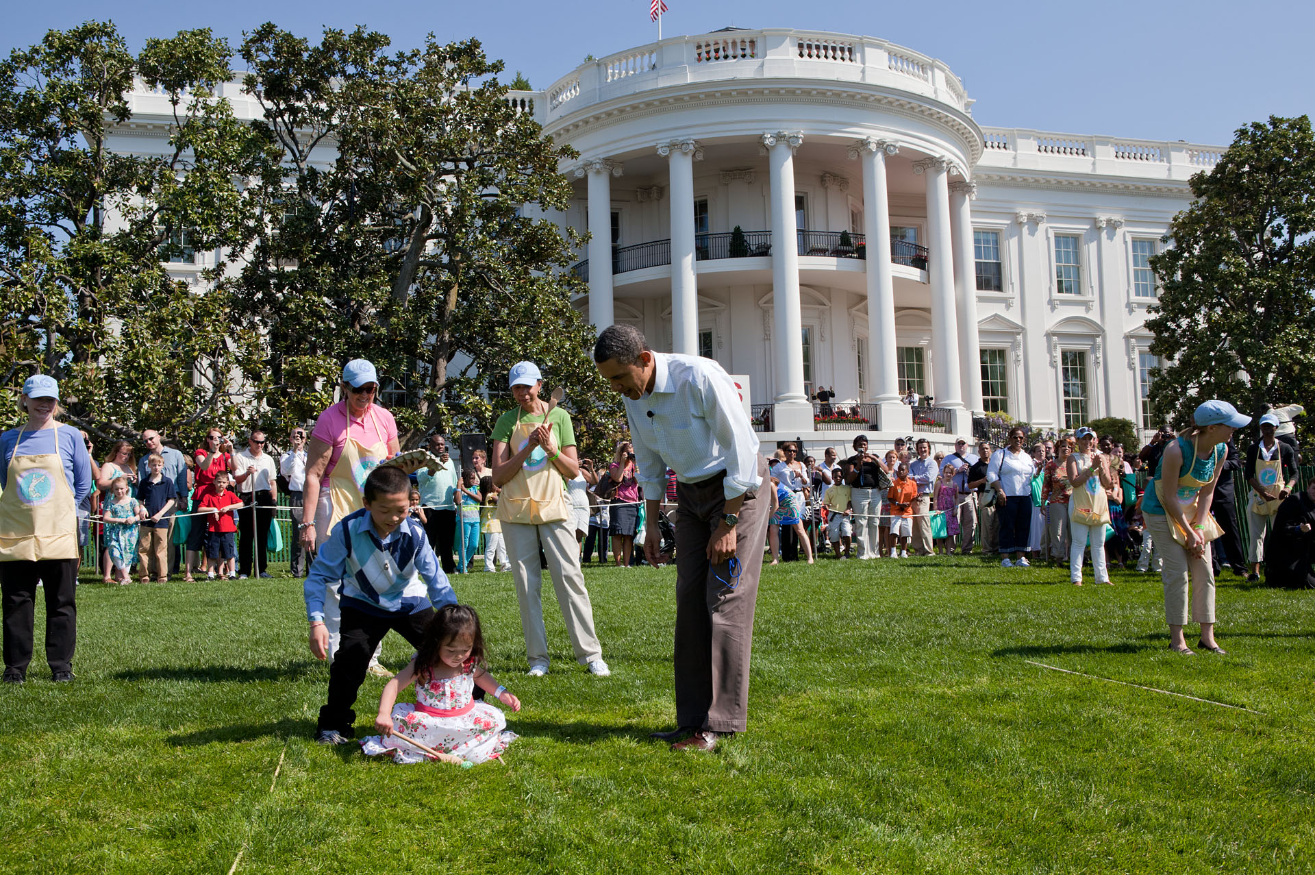 Nos Estados Unidos é comum no período da Páscoa promover caçadas para entreter as crianças