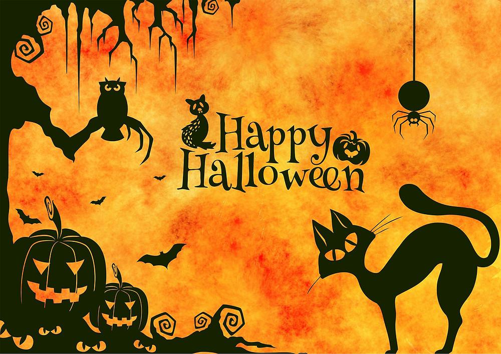 Mind Up halloween escola de ingles