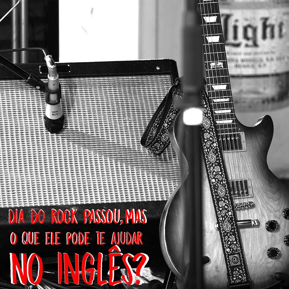 Dia do rock - aprender inglês.