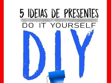 5 Presentes DIY para o dia 12 de junho
