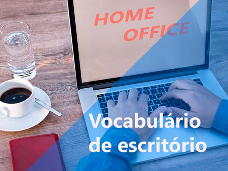 Vocabulário de escritório