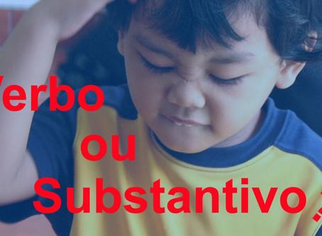 Substantivos que também são verbos