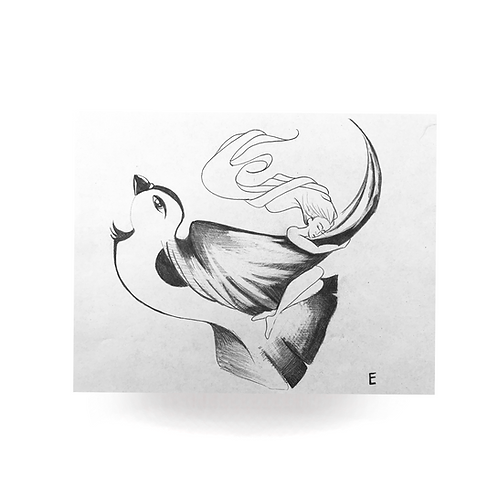 E for Epiphany (computer print)