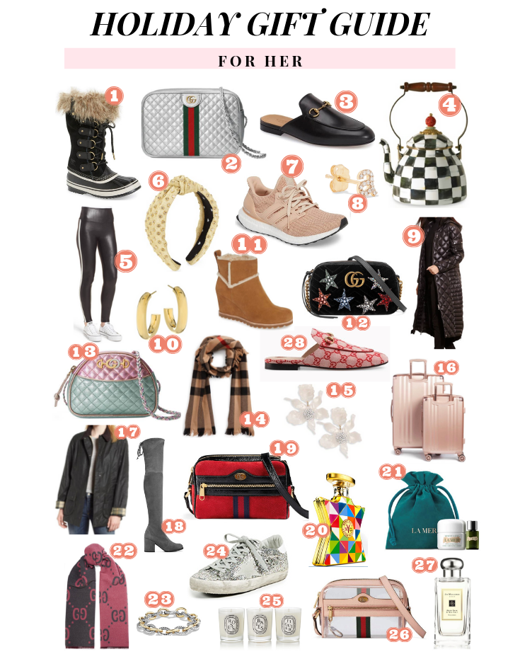 ULTIMATE HOLIDAY GIFT GUIDE FOR HER