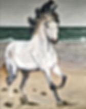 Trudy Arts schilerij paard