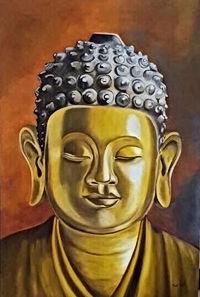 Boedha schildeij door Trudy Arts, Buddha painting