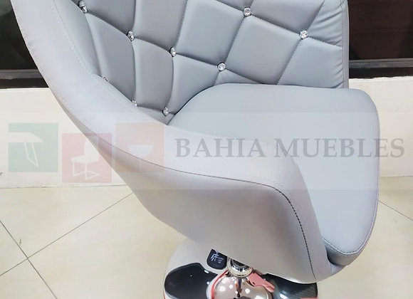 Taburete Diamante color gris