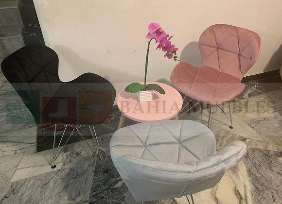 Silla Flor Velvet