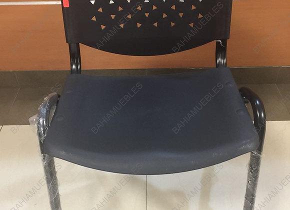 SILLA DE ESPERA 100 PVC