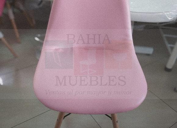 Silla eames tapizada Pink