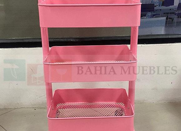 Carrito metálico Verona Pink