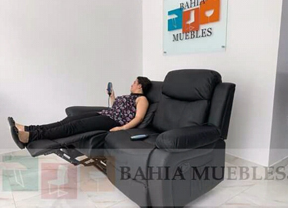 Muebles dos plazas con vibración