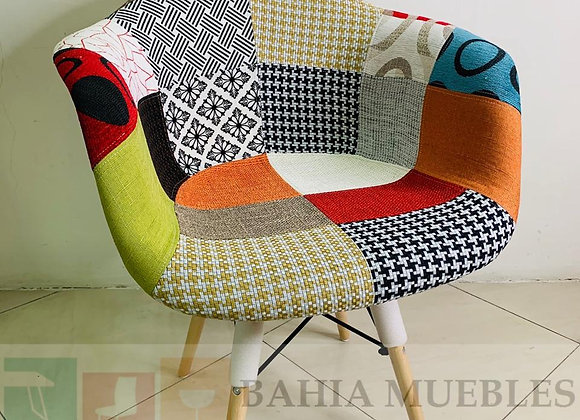 Silla patch full tapizada