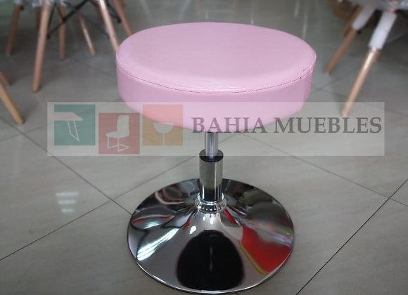 Taburete bajo clásico pink