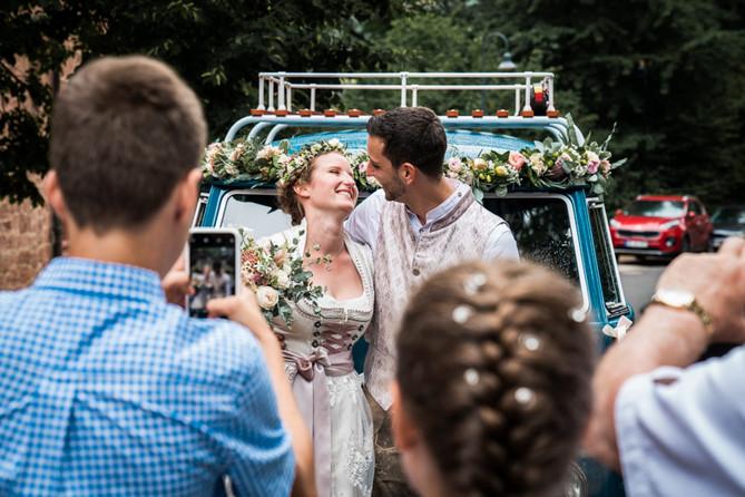 Bulli Hochzeit