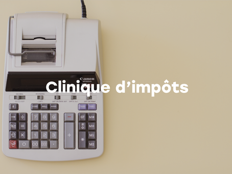 Clinique d'impôts sans contact