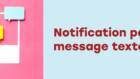 Recevoir des alertes par message texte