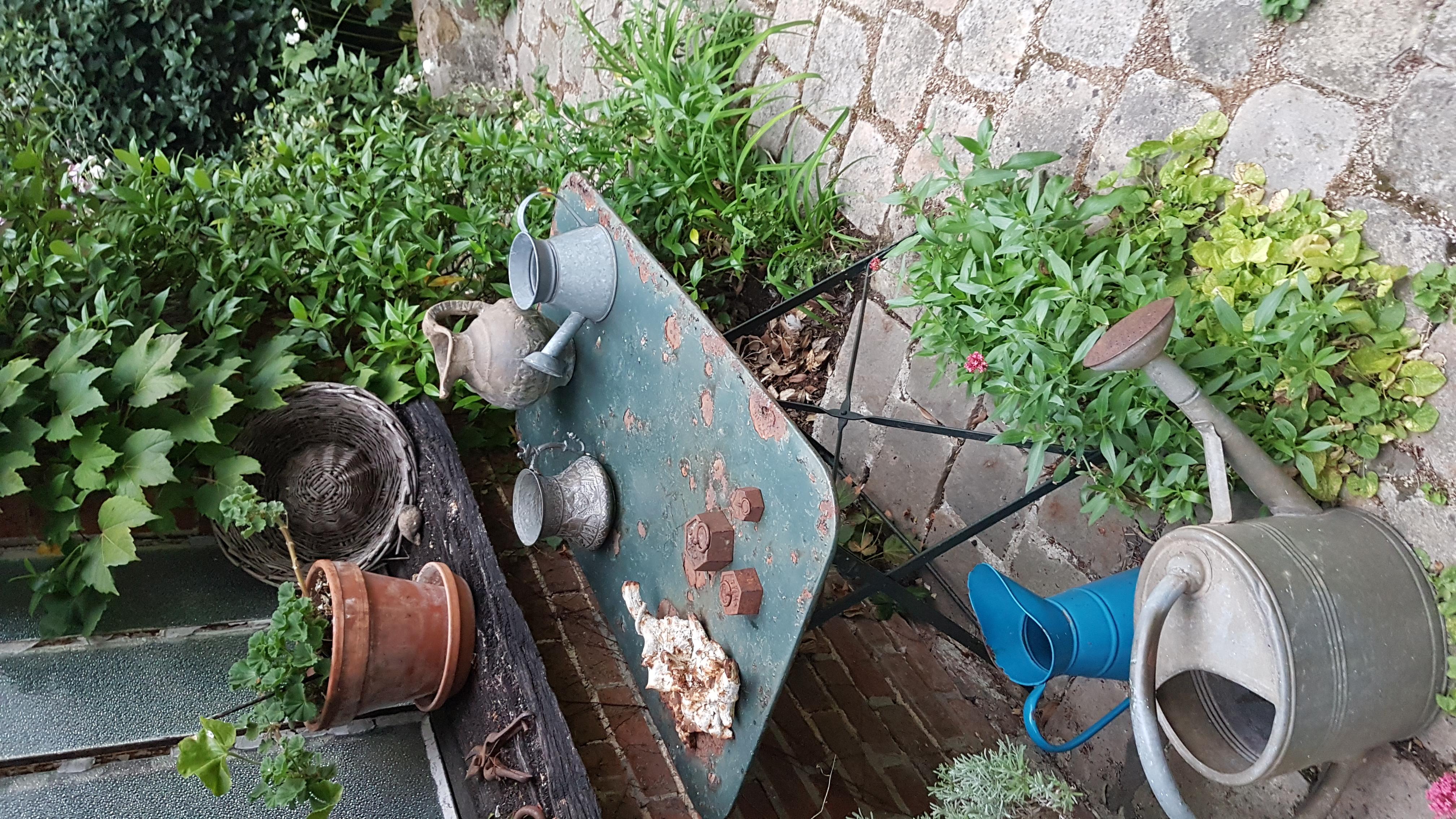 Jardin de mathilde table déco