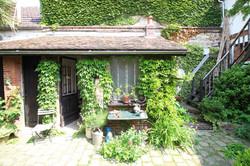 Jardin de mathilde Nangis cabane