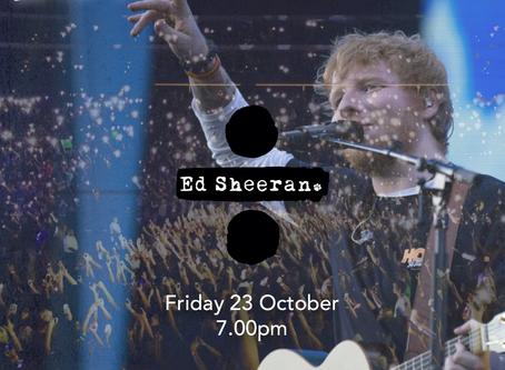 Live Fridays: Ed Sheeran