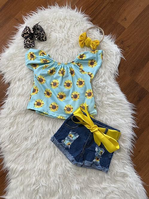 Sunflower Jean Shorts