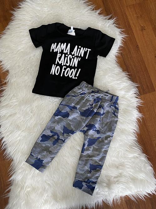 Mama Ain't Raising No Fool Outfit