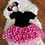 Thumbnail: Red and Pink Minnie Inspired Tutu Dresses with headbands