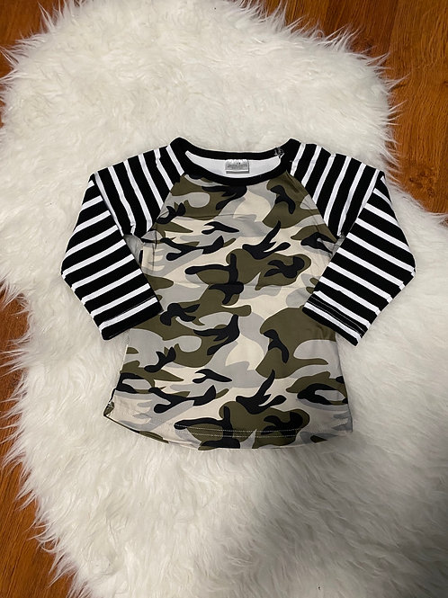 Stripe Camo Shirt