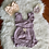 Thumbnail: Purple/Wine/Mustard Baby Rompers