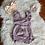 Thumbnail: Purple/Wine/Mustard Baby Rompers