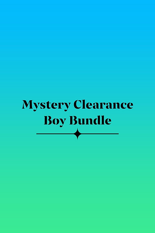 Mystery Clearance Boy Bundle