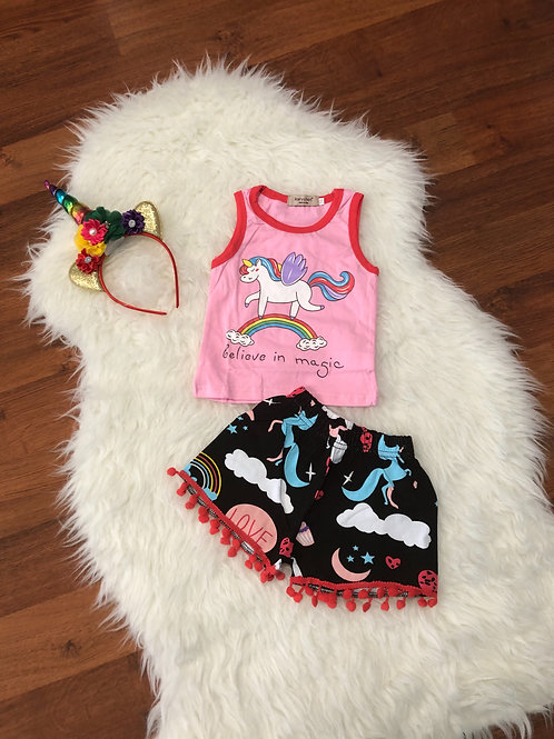 Believe In Magic Unicorn Outfit