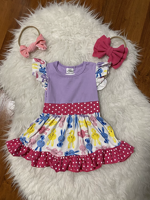 Colorful Bunny Dress